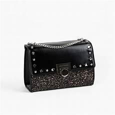 jual tas branded ck studd glitter semor 22 cm black murah kwalitas tas import pwshoponline