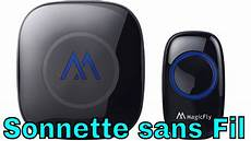 Sonnette De Porte D Entr 233 E Sans Fil Unboxing Et Review