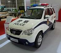 An Electric Premier Rio With A Police Outfit