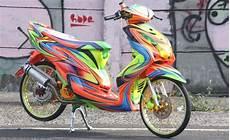 Modifikasi S by Modifikasi Yamaha Mio Sporty Mio Matic Terkeren Simple Acre