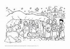 Ausmalbilder Kostenlos Weihnachten Krippe Ausmalbilder Hl Drei K 246 Nige Pfarreiengemeinschaft
