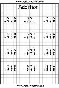 addition regrouping ejercicios de calculo pr 225 cticas de matem 225 ticas fichas de matematicas