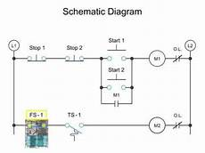 visual walkthrough of schematic diagram and logic