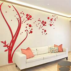 home decor stickers 3d large size dots tree wall stickers home decor