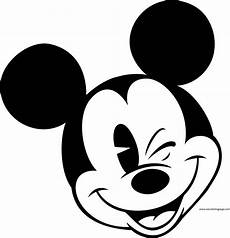 Micky Maus Gesicht Malvorlage Mickey Mouse Coloring Page 6 Wecoloringpage