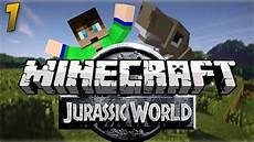 Jurassic World Malvorlagen Mod Minecraft Jurassic World Episode 1 Quot Welcome To