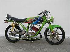 Rx King Modif Japstyle by Modifikasi Motor Rx King Airbrush Motor Modif