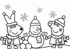 Peppa Wutz Ausmalbilder Weihnachten Peppa Pig Holidays Coloring Page Weihnachtsmalvorlagen