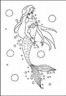 Malvorlage Baby Meerjungfrau Malvorlage Meerjungfrau Mermaid Crafts Drawings