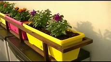 vasi in legno fai da te porta vasi fioriere con legna riciclata da vecchi bancali