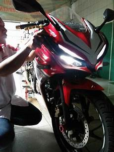 Modifikasi Motor Rr 2018 by Modifikasi Topeng Cbr 150 Facelift Oto Trendz