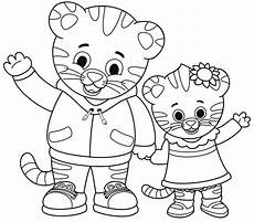 daniel tiger coloring pages to download and print sketch coloring page