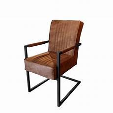 Freischwinger Stuhl Armlehne Dora Steelwood Interior
