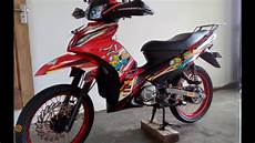 Modifikasi Jupiter Z1 by Modifikasi Motor Jupiter Z1 Touring Jaran Goyang