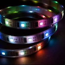 Nooelec 5m Addressable 24 Bit Rgb Led Strip Waterproof