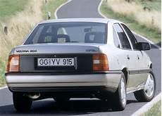 Opel Vectra A Technische Daten Und Kraftstoffverbrauch