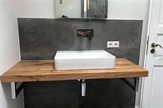 Ist Eine Waschtischplatte Aus Holz Wasserfest Meine