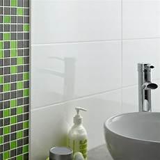 carrelage mural loft blanc brillant et mosa 239 que vert