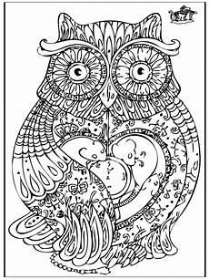 Malvorlagen Erwachsene Tiere Pin Op Owls