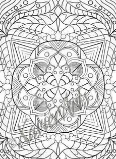 mandala coloring page 1 in 2020 with images mandala