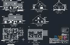 autocad house plans free download autocad house plan download house plan