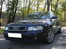1996 1998 audi a4 b5 depo euro s4 style chrome or black projector headlight with clear corner