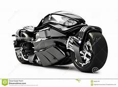 Futuristic Custom Motorcycle Concept Royalty Free Stock