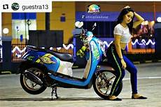Scoopy Modifikasi Standar by 100 Modifikasi Scoopy Standar Harian Purnama