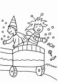Malvorlagen Kinder Karneval Ausmalbild Karneval Fasching Fastnacht Kinder Auf Dem