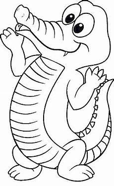 malvorlage krokodile krokodile ausmalbilder krokodil