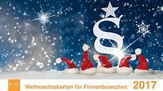 weihnachtskarten programm 2017 branchenkarten