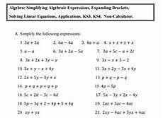 year 9 algebra worksheets uk 8613 10 of the best algebra worksheets for ks3