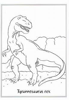 Lustige Dino Ausmalbilder N De Ausmalbild Dinosaurier 2 Tyrannosaurus Rex