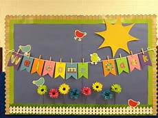 spring theme welcome back to school bulletin boards ideas bing images classroom bulletin