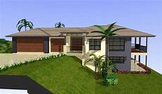 sloping block home designs gold coast unique homes houses on slopes split level house plans
