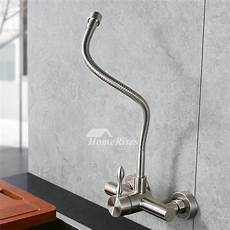 discounted kitchen faucets discount kitchen faucets wall mount brushed stainless steel silver