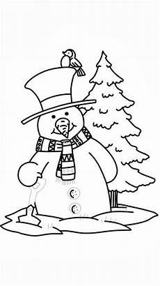 Ausmalbilder Weihnachten Schneemann Malvorlagen Schneemann