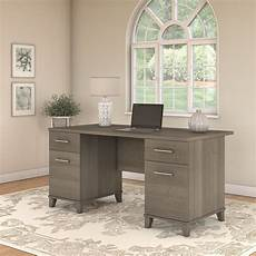 home office furniture michigan bush furniture somerset 60w office desk in ash gray