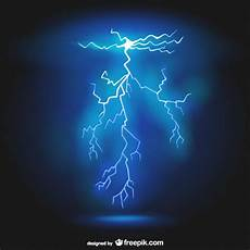 realistic lightning background vector free download
