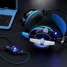 Wired Gaming Earphone Stereo Surround Sound by Usb Wired Professional Surround Sound Gaming Headphones