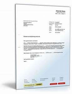 R 252 Cktritt Vom Kaufvertrag Wegen Mangels Muster Zum