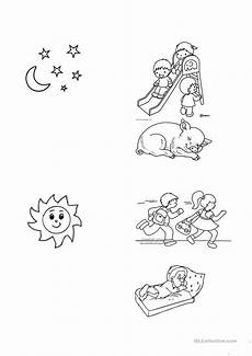 time of day worksheets for kindergarten 3596 and day worksheet free esl printable worksheets made by teachers