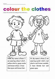 worksheets clothing 18811 colour plus clothes worksheet teach to clothes activities for