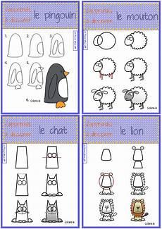 j apprends 224 dessiner les animaux la domrod classe cp