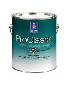proclassic 174 interior waterbased acrylic alkyd enamel