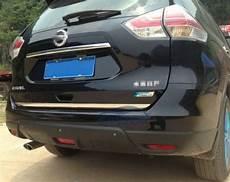 Nissan X Trail T32 Tuning - nissan x trail t32 13 chrom zierleiste heckleiste