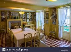 pittura sala da pranzo giallo sala da pranzo nella casa di claude monet pittore