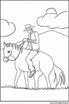 Ausmalbilder Erwachsene Cowboy Ausmalbild Cowboy Auf Seinem Pferd Ausmalbilder Zum
