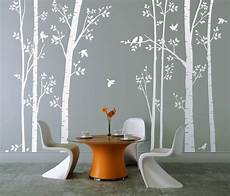 Wall Stickers Uk leafy trees wall sticker