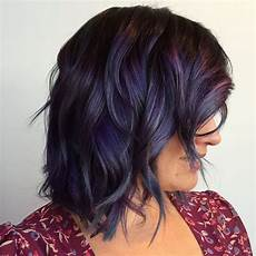 rot et cut 2016 slate violet rainbow hair color ideas for brunettes
